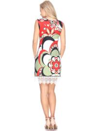 Mireya Lace Hemline Tunic Dress - Back