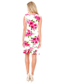 Tiera Sleeveless Slim Fit Dress - Back
