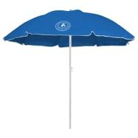 Caribbean Joe 6 ft. Beach Umbrella with UV - Blue - Back