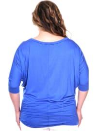 Bat Sleeve Tunic Top - Plus - Back