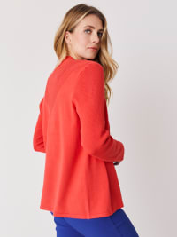 Roz & Ali Everyday Cardigan - Starfish Coral - Back