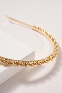 Twisted Metal Headband - Gold - Back