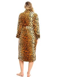Long Sleeve Super Soft Lounge Robe - Back