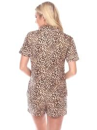 Short Sleeve Comfortable Pajama Set - Back