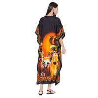 Tribal Printed Mother and Baby Kaftan - Back
