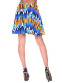 Heidi Flared Mini Skirt - Back