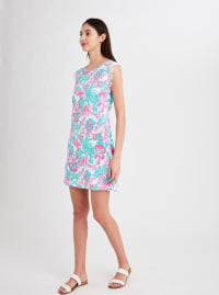 Stella Parker Charlotte Swing Dress - Dreamy Jungle - Back