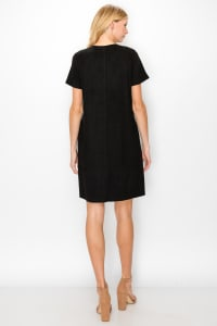 Audrey Round Neck with No Pockets - Back