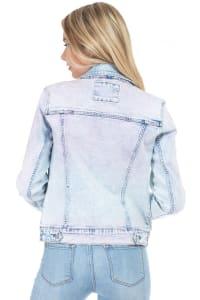 26 International Tie Dye Denim Jacket - Back