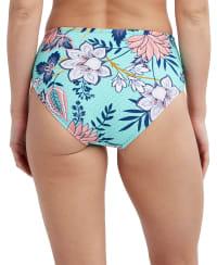 Caribbean Joe Batik Bloom High Waist Bottom - Back