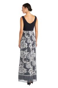 Power Mesh Maxi Dress - Petite - Back