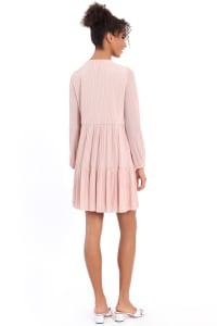 Clara Easy A-line Tiered Dress - Petite - Back