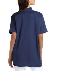 Isaac Mizrahi Dolman Sleeve Blouse - Back