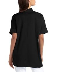 Isaac Mizrahi Dolman Sleeve Blouse - Black - Back
