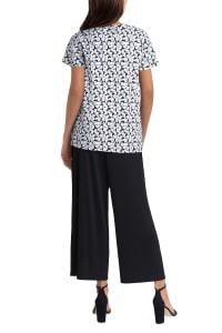 Isaac Mizrahi Short Sleeve V-Neck Pullover T-Shirt - Back