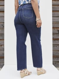 Westport Signature Plus 5 Pocket Straight Leg Jean - Plus - Back