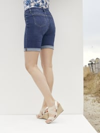 Westport Signature 5 Pocket Short With Rolled Cuff - Back