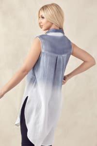 Wren Hand Dip-Dyed Shirt - Back