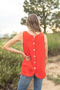 Westport Embroidered Blouse - Back