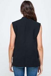 Kaii Military Oversized Vest - Back
