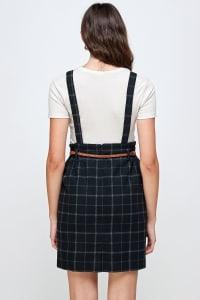 Kaii Suspender High Waisted Skirt - Back