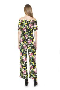 Brea Ots Knit Jumpsuit with Belt - Back