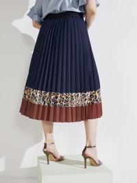 Winsley Animal Print Skirt - Back