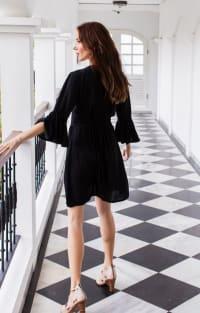 Melrose Dress - Plus - Black - Back