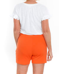 Sport Elle Take Comfort Cargo Pocket Knit Shorts - Back