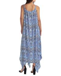 Gigi Parker Handkerchief Hem Maxi Dress - Back