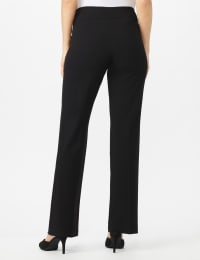 Roz & Ali Secret Agent Tummy Control Pants - Average Length - Black - Back