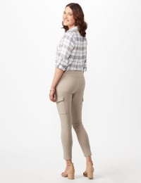 Skinny Cargo Pant - Neutral - Back