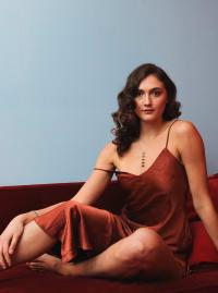Ruby Slip Dress - Ruby - Back