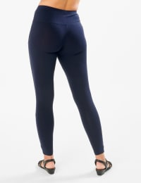 Tummy Control Legging - Navy - Back