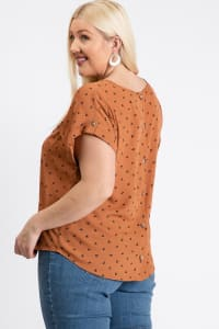 Ready To Roll Shirt - Rust - Back