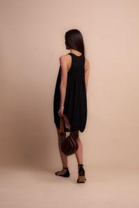 Nicky Dress - Black - Back