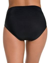 Penbrooke Swimsuit Brief Bottom - Misses - Black - Back