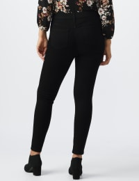 Westport Signature 5 Pocket Skinny Jean - Black - Back