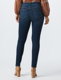 Westport Signature 5 Pocket Skinny Jean - Dark Wash - Back