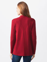 Roz & Ali Everyday Cardigan - Misses - Delicious Apple - Back