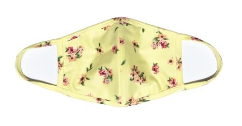 3 Pack Ditsy Floral Fashion Masks - Back