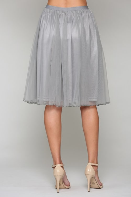 Mia Tulle Skirt - Back