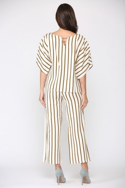 Wilda Stripe Top - Back