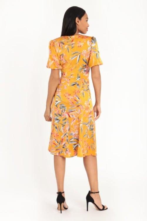 Floral Lisa Dress - Back