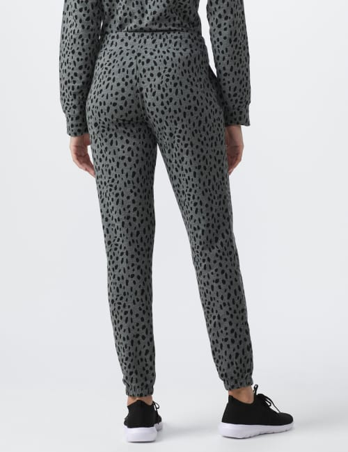 DB Sunday Animal French Terry Knit Jogger - Back