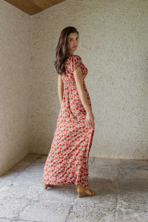 Curve Valentina Dress - Plus - Back