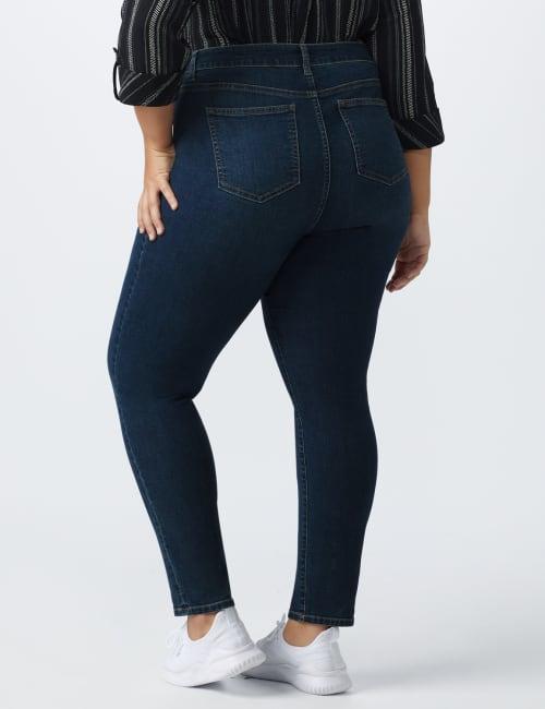 Westport Signature 5 Pocket Skinny Jean -Plus - Back