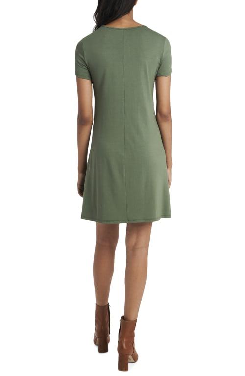 Classic Tee Shirt Dress - Back