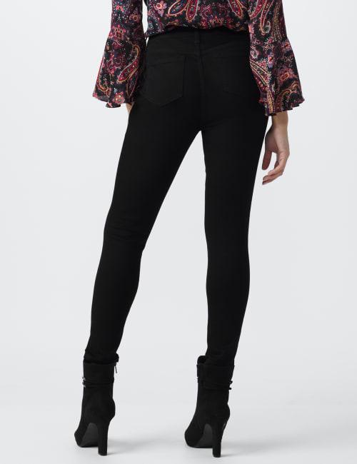 Westport Signature Five Pocket Skinny Jean - Petite - Back