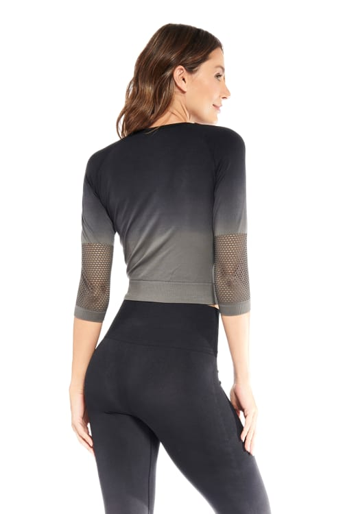 Lexi Long Sleeve Top - Back